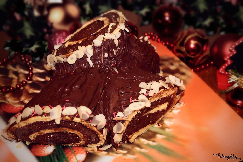 Decorare Il Tronchetto Di Natale.Tronchetto Di Natale Bohemycake