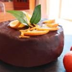 Torta ciocco-arancia