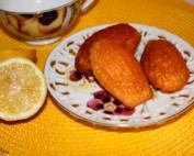 Madeleine al limone