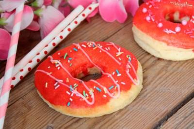 Donut con pasta madre