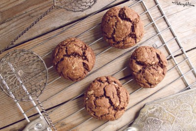 Biscottoni al doppio cioccolato