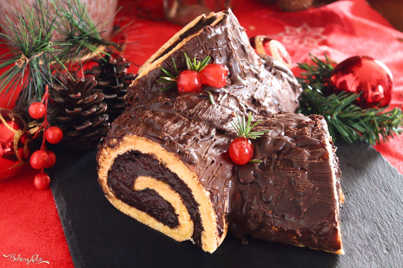 Torta Tronchetto Di Natale.Tronchetto Di Natale Al Caffe Bohemycake