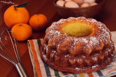 Torta pan di mandarino