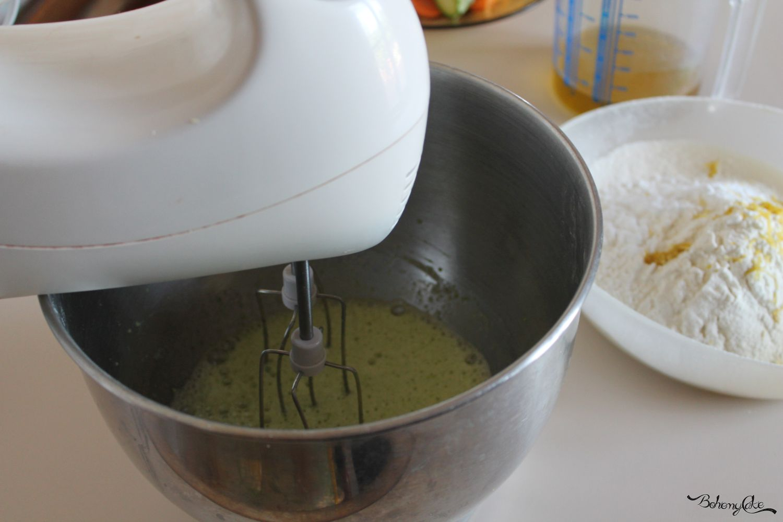 Torta di zucchine e pompelmo