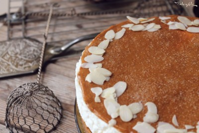 Cheesecake al caramello salato