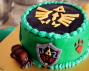 The Legend of Zelda cake