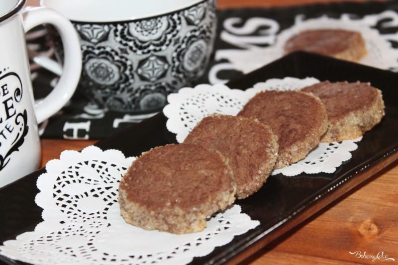 Biscotti sablé al cacao