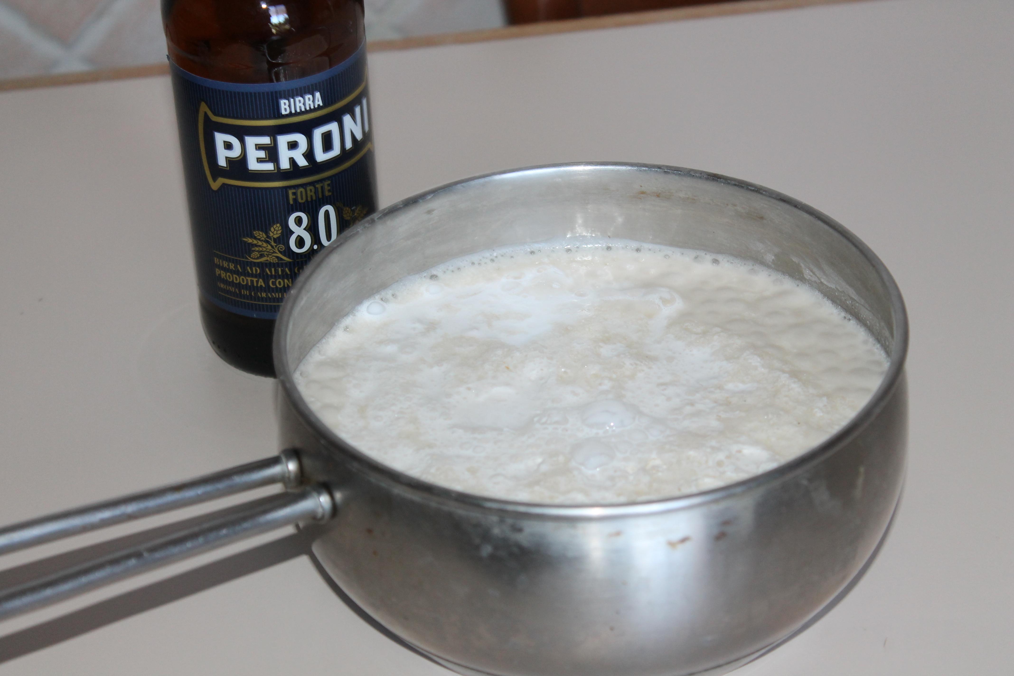 Panna cotta alla birra