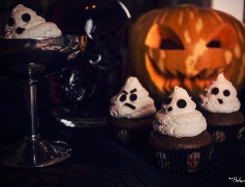 Cupcake fantasmini senza lattosio
