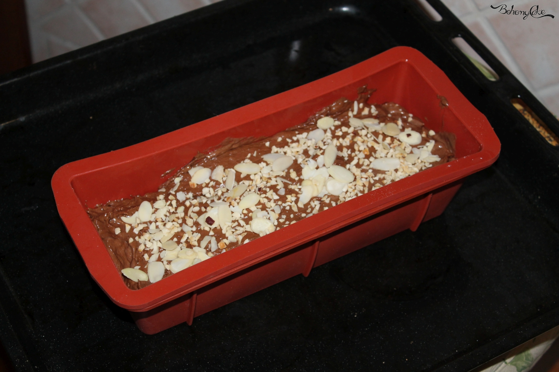 Banana bread al cioccolato fondente
