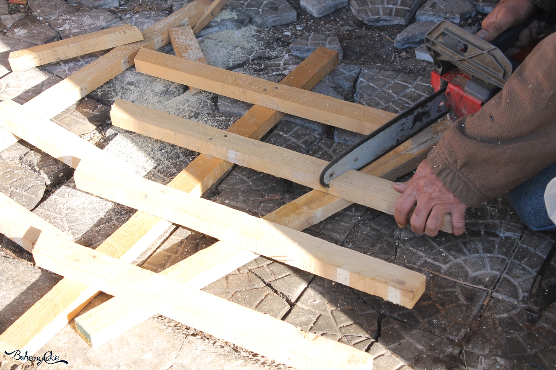 Come costruire un albero di Natale in legno