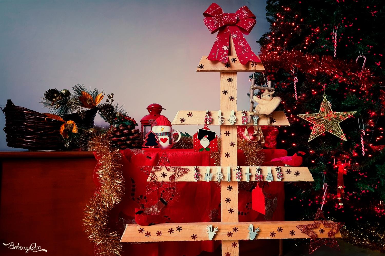 Alberi Di Natale In Legno Da Appendere : Come costruire un albero di natale in legno bohemycake