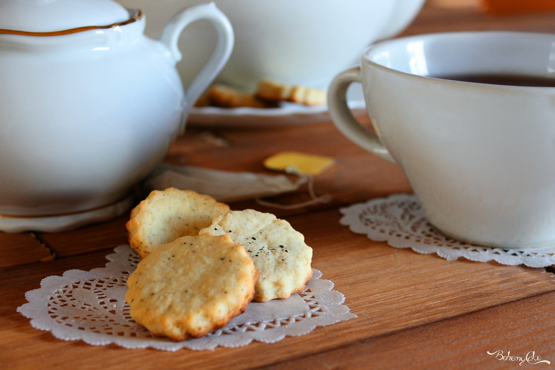 Biscotti al tè nero