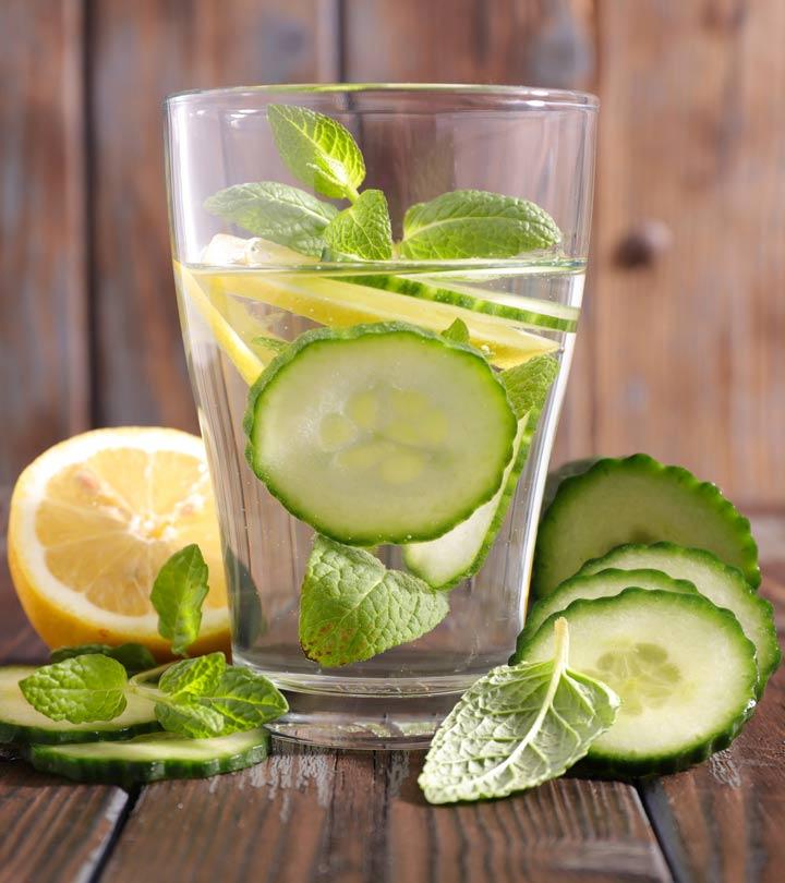 10 Acque Detox perfette per fare il pieno di nutrienti!