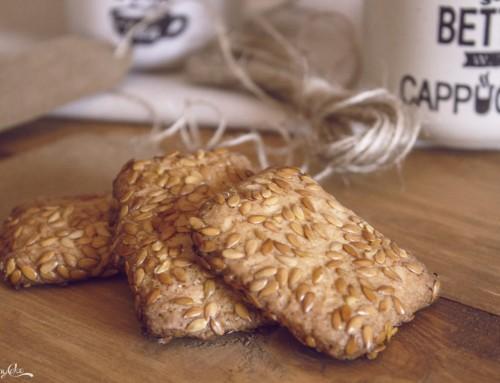 Biscotti ai semi di lino