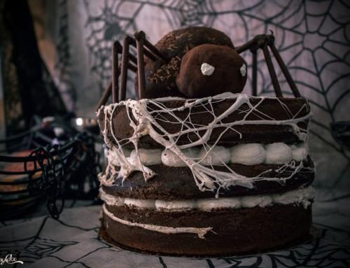 Spider Cake al cioccolato