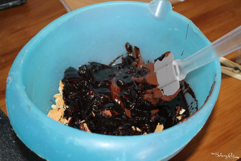 Torta biscottino al cioccolato