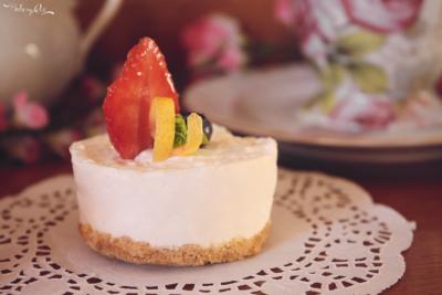 Mini Cheesecake alla vaniglia
