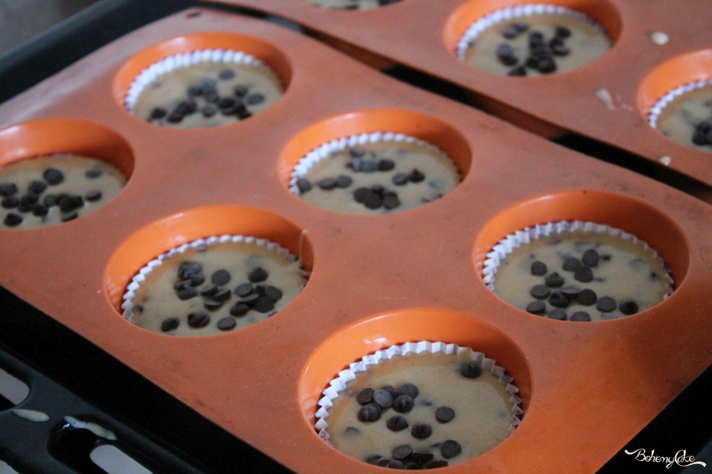 Muffin zucca e gocce di cioccolato