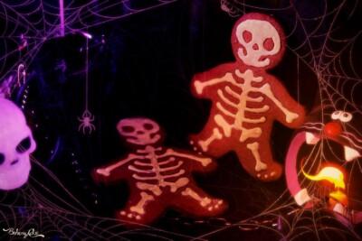 Biscotti Scheletro per Halloween
