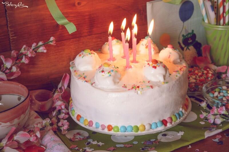 Torta di compleanno! 6 anni di BohemyCake